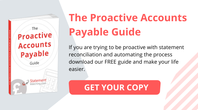 Statement Matching Proactive Accounts Payable Guide