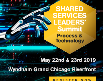 Come & See Us At The 2019 Shared Services Leaders' Summit