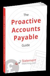 Proactive Account Payable Guide - Statement Matching