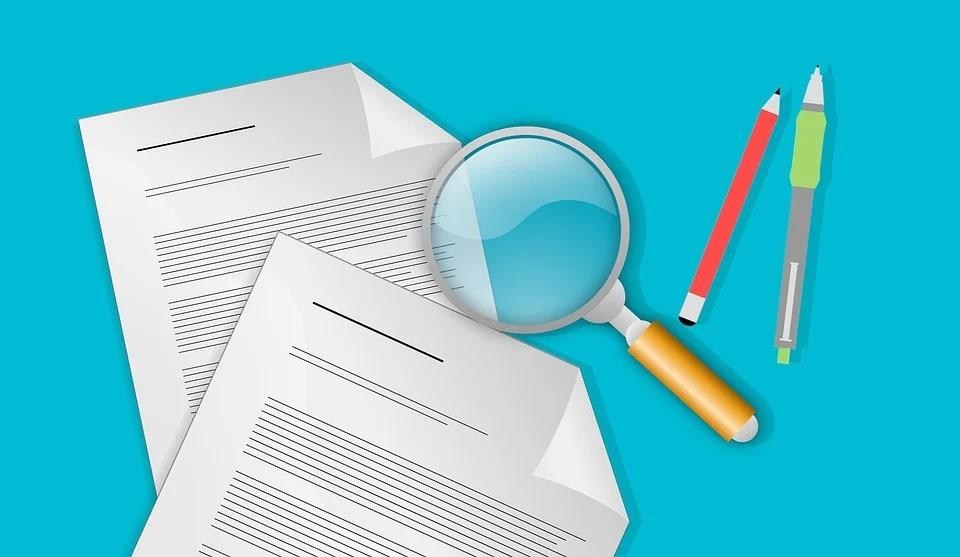 Sales Ledger Reconciliation papers