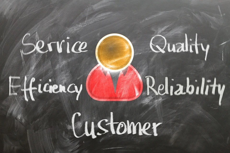 Improve Your Relationships With Suppliers chalkboard diagram